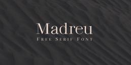 Free Modern Serif Font Madreu