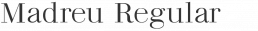 Madreu Modern Serif