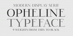 Opheline Serif Fonts Download