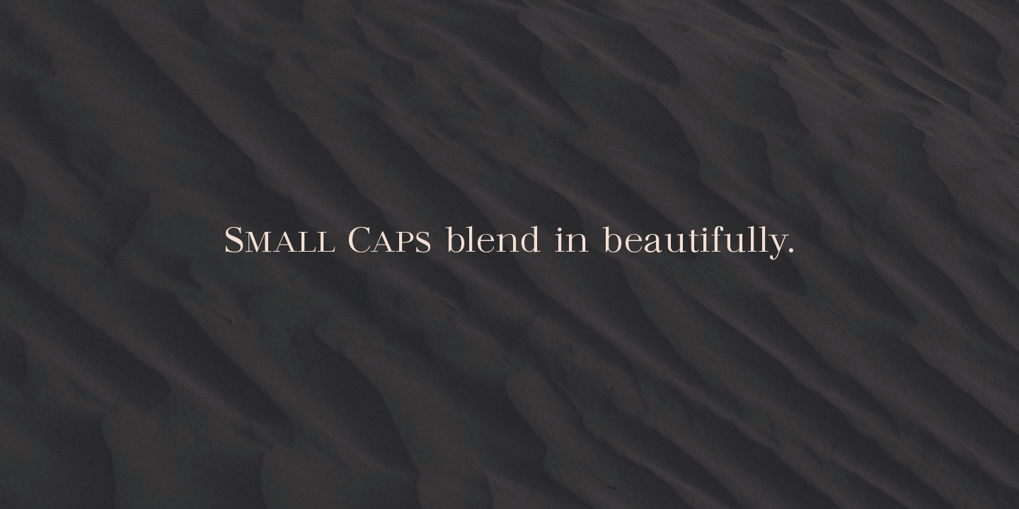 Madreu Small Caps Serif