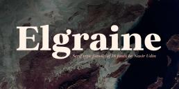 Elgraine Serif Fonts