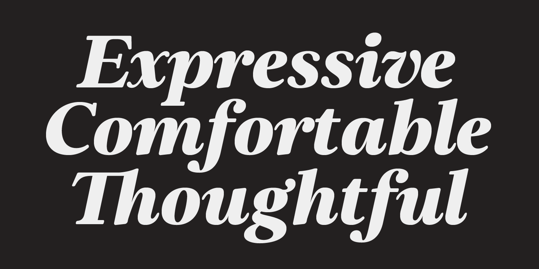 Elgraine italic bold serif fonts