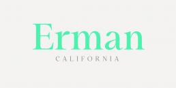 Mauren font paired with Restora Neue